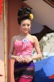 Кандидат для госпожи Songkran 2014 стоковое изображение