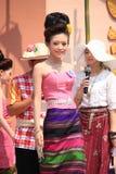 Кандидат для госпожи Songkran 2014 стоковое фото rf