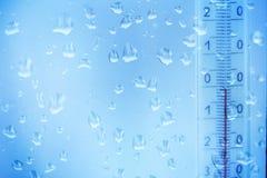 Капание дождя на окнах стоковая фотография rf