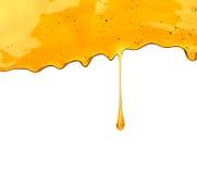 Капание меда стоковые изображения