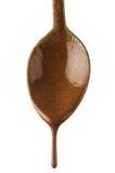 капание шоколада Стоковое Фото