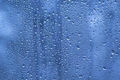 Капельки воды на окне стоковое фото rf