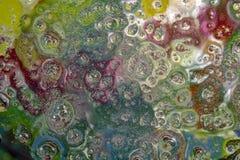 Капельки воды на стекле стоковое фото