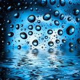 Капельки воды Стоковое Фото