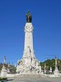 Капер de Pombal, Лиссабон, Португалия Стоковое Изображение RF