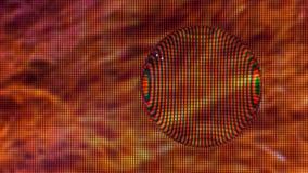 Капелька воды на экране Стоковая Фотография RF