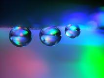 Капельки воды Стоковая Фотография RF