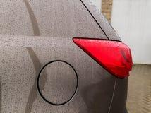 Капельки на автомобиле Стоковые Изображения RF
