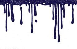 Капельки чернил Стоковые Изображения