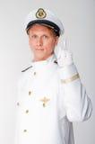 Капитан дальнего плавания Стоковые Фотографии RF