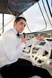 капитан стоковое фото