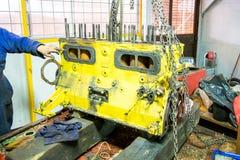 Капитальный ремонт двигателя Стоковые Изображения RF