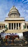 капитолий Куба havana здания Стоковые Изображения RF