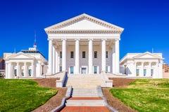 Капитолий положения Вирджинии стоковая фотография rf