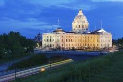Капитолий положения Минесоты в St Paul стоковая фотография