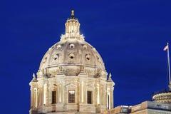 Капитолий положения Минесоты в St Paul стоковая фотография rf