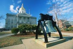 Капитолий положения New Hampshire, Стоковые Изображения