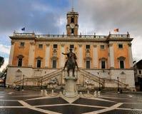 капитолий rome стоковое изображение rf