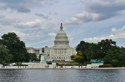 Капитолий, Вашингтон стоковые изображения rf