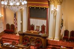 Капитолий в Сакраменто, Калифорнии Стоковое фото RF