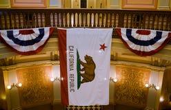 Капитолий в Сакраменто, Калифорнии Стоковое Изображение