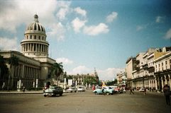 капитолий Куба havana здания исторический Стоковые Фотографии RF