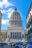 капитолий Куба havana здания Стоковые Изображения