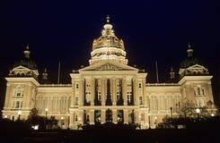 Капитолий положения Айовы, Des Moines стоковая фотография rf