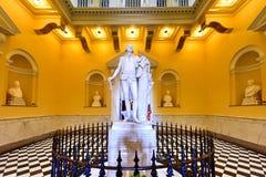 Капитолий положения Вирджинии - Ричмонд, Вирджиния стоковое изображение rf