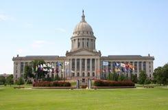 Капитолий положения Оклахомаа-Сити Стоковое фото RF