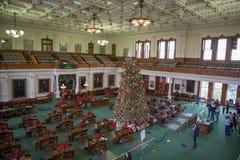 Капитолий положения Техаса зала заседаний сената стоковое фото rf
