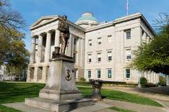Капитолий положения North Carolina Стоковое Фото