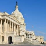 Капитолий США строя восточный фасад, DC Вашингтона Стоковое Изображение