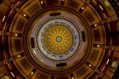 Капитолий штата Мичиган стоковое изображение