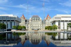 Капитолий штат Нью-Йорк, Albany, NY, США Стоковая Фотография