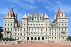 Капитолий штат Нью-Йорк, Albany, NY, США Стоковое Изображение RF