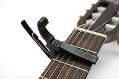 Каподастр гитары Стоковое Изображение