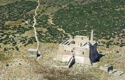 Каподастр Passero Portopalo, Сиракузы Scily, Италии Крепость стоковые фото