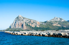 Каподастр San Vito Lo на Сицилии Стоковое Фото