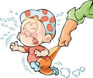 Капризный младенец Стоковое Изображение RF