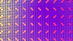Капсулы движутся в форме на отражательной сетке иллюстрация вектора