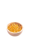 Капсула рыбьего жира, омега 3-6-9 капсул гелей рыбьего жира желтых мягких Стоковые Изображения RF