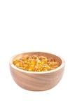 Капсула рыбьего жира, омега 3-6-9 капсул гелей рыбьего жира желтых мягких Стоковое Изображение