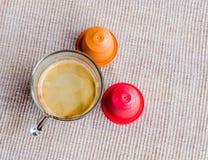 Капсулы кофе Стоковые Фото
