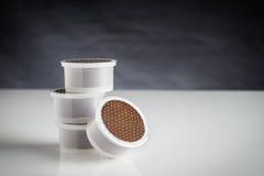 Капсулы кофе стоковая фотография rf