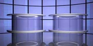 Капсулы телепортации, 3d иллюстрация вектора