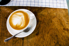 Капучино latte кофе Стоковое фото RF