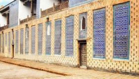 Караван-сарай Alla Kuli Khan в Khiva стоковое изображение rf