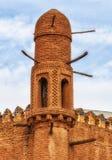 Караван-сарай Alla Kuli Khan в Khiva стоковая фотография rf