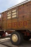 Караван цирка с испанской литерностью circo Стоковая Фотография